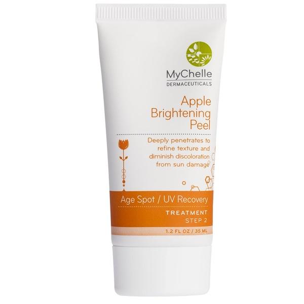 MyChelle Dermaceuticals, Apple Brightening Peel, Age Spot / UV Recovery, Treatment, Step 2, 1.2 fl oz (35 ml) (Discontinued Item)