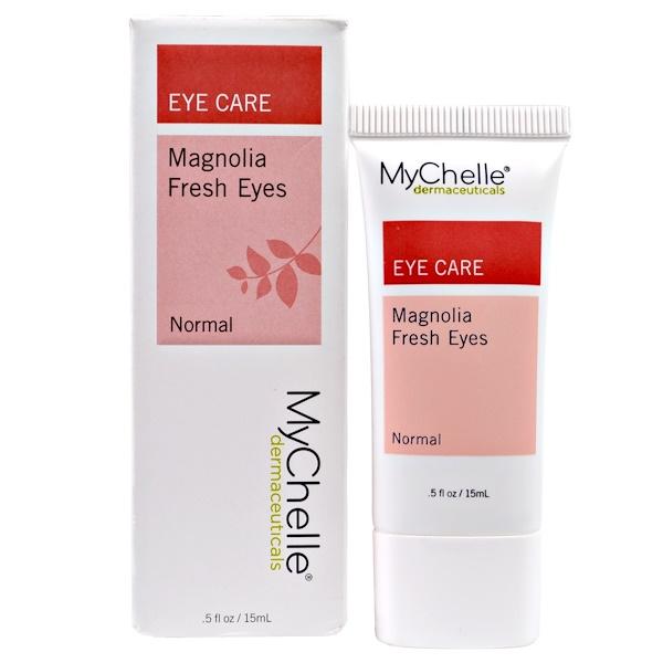 MyChelle Dermaceuticals, Magnolia Fresh Eyes, Normal, .5 fl oz (15 ml) (Discontinued Item)