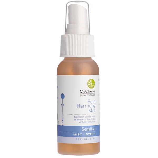 MyChelle Dermaceuticals, Pure Harmony Mist, Sensitive, Step 4, 2.1 fl oz (61 ml) (Discontinued Item)