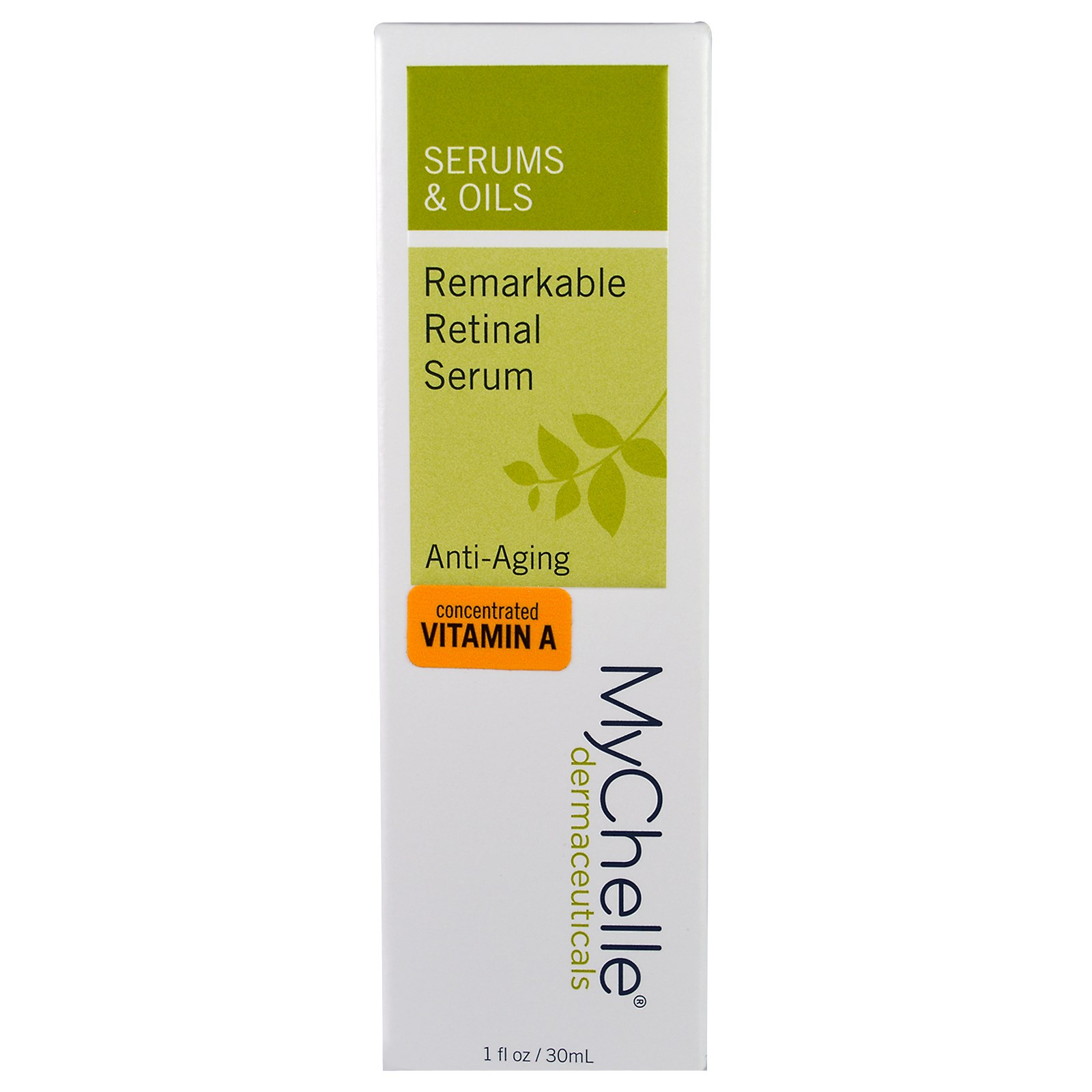 MyChelle Dermaceuticals MyChelle  Vitamin A, 1 oz Pack of 30, The Elixir Beauty MJ Korean Cosmetic Full Face Collagen Green Tea Essence Mask Pack Sheet for Vitality, Clarity, Mosturizing, Relaxing