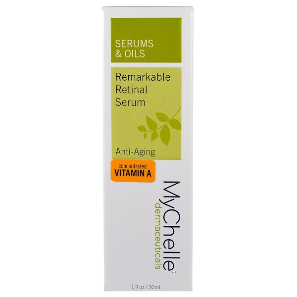 MyChelle Dermaceuticals, Remarkable Retinal Serum, Anti-Aging, 1 fl oz (30 ml) (Discontinued Item)