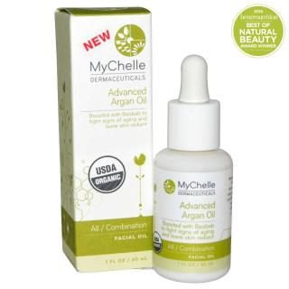 MyChelle Dermaceuticals, Advanced Argan Oil, All / Combination Facial Oil, 1 fl oz (30 ml)