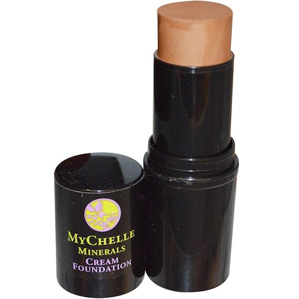 MyChelle Dermaceuticals, Minerals, Cream Foundation, Chai, .4 oz (12 g) (Discontinued Item)