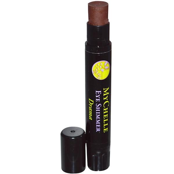 MyChelle Dermaceuticals, Minerals, Eye Shimmer, Drama, .10 oz (2.83 g) (Discontinued Item)