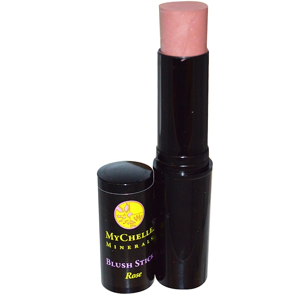 MyChelle Dermaceuticals, Minerals, Blush Stick, Rose, .4 oz (12 g) (Discontinued Item)