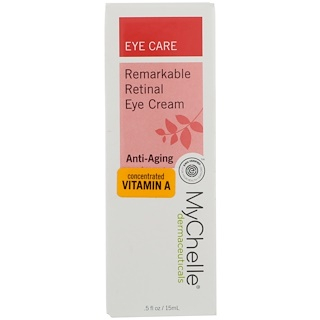 MyChelle Dermaceuticals, Remarkable Retinal Eye Cream, Anti-Aging, .5 fl oz (15 ml)