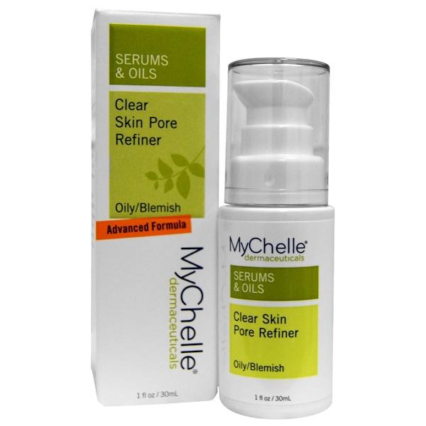 MyChelle Dermaceuticals, Сыворотки &  масла, Чистая кожа Средство для уменьшения размера пор, Для жирной кожи/с несовершенствами,  1 унция (30 мл) (Discontinued Item)
