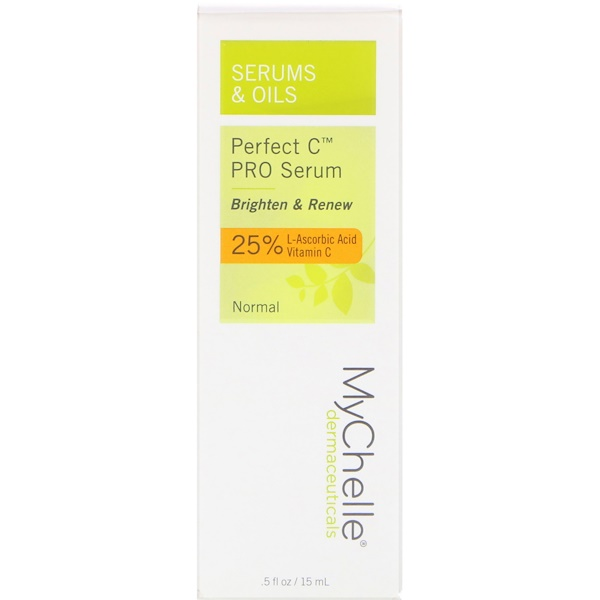 MyChelle Dermaceuticals, Perfect C PRO Serum, Normal, .5 fl oz (15 ml) (Discontinued Item)