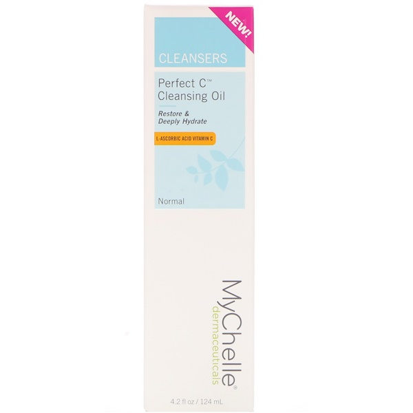 MyChelle Dermaceuticals, Perfect C Cleansing Oil, Normal, 4.2 fl oz (124 ml) (Discontinued Item)