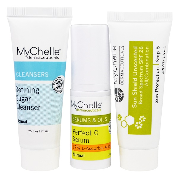 MyChelle Dermaceuticals, Discovery Kit, 3 Piece Kit (Discontinued Item)
