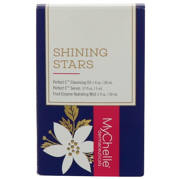 MyChelle Dermaceuticals, Shining Stars Value Set, 3 Piece Set (Discontinued Item)