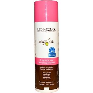 MD Moms, Детская шелковистость, ежедневная защита кожи, увлажняющий бальзам, без отдушки, 200 мл (6,8 унции)