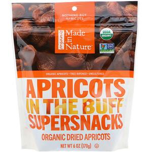 Маде ин натуре, Organic Dried Apricots, In The Buff Supersnacks, 6 oz (170 g) отзывы покупателей