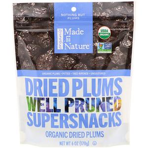 Маде ин натуре, Organic Dried Plums, Well Pruned Supersnacks, 6 oz (170 g) отзывы