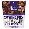 Made in Nature, 유기농, Smyrna Figs, 부드럽고 맛있는 수퍼스낵, 7 oz (198 g)