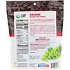 Made in Nature, Organic Dried Raisins, Plump & Rich Supersnacks, 9 oz (255 g)