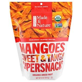 Made in Nature, オーガニックマンゴースイート、タンジースーパースナック、8 oz (227 g)
