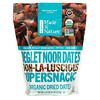 Made in Nature, Organic Dried Deglet Noor Dates, Ooh-La-Luscious Supernacks, 20 oz (567 g)