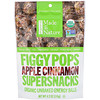 Made in Nature, 有機無花果波普,超級小食,蘋果肉桂,4.2盎司(119克)