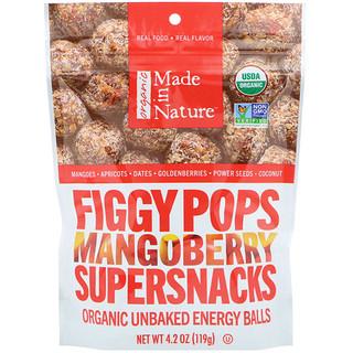 Made in Nature, 유기농, 피기 팝스, 망고베리 슈퍼스낵, 4.2 oz (119 g)