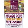 Made in Nature, Super en-cas à la mangue bio, sucrés et acidulés, 119g