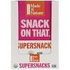 Made in Nature, Organic Mangoes Sweet & Tangy Supersnacks, 10 Pack, 1 oz (28 g) Each
