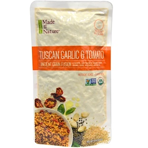 Маде ин натуре, Ancient Grain Fusion, Organic Tuscan Garlic & Tomato, 8 oz (227 g) отзывы