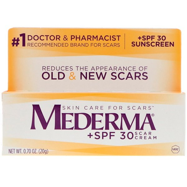 Mederma, Scar Cream, +SPF 30, 0.70 oz (20 g)