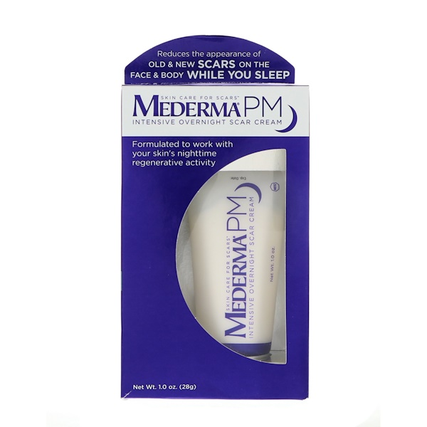 Mederma, PM, Intensive Overnight Scar Cream, 1.0 oz (28 g)