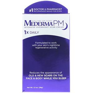 Mederma, PM, Intensive Overnight Scar Cream, 1.0 oz (28 g) отзывы