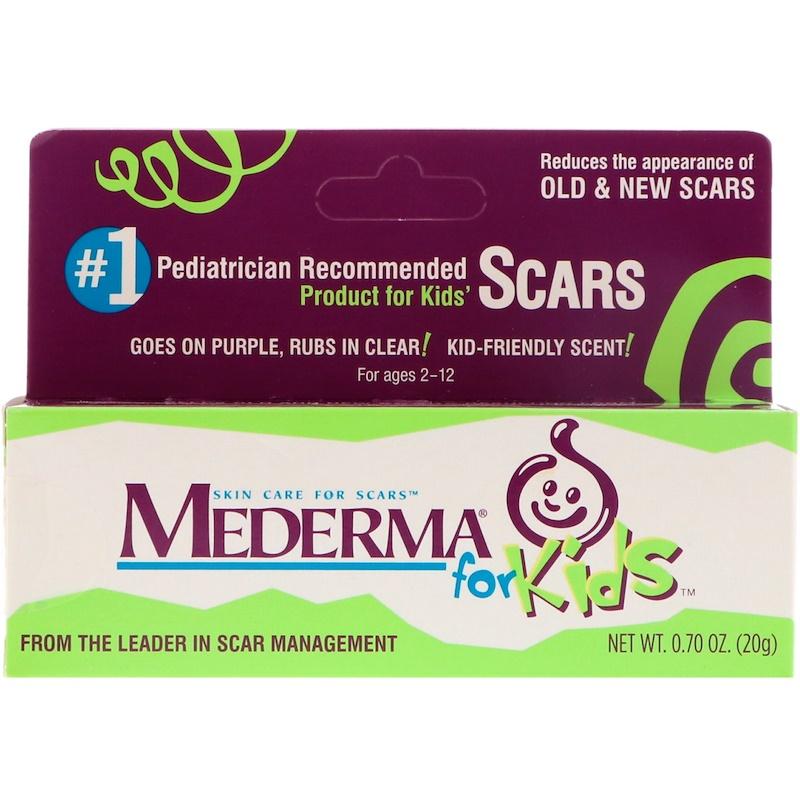 Mederma, 皮膚疤痕護理,兒童裝,0.70盎司(20克)