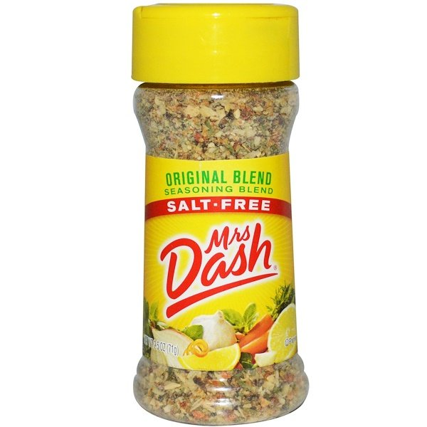 Mrs. Dash, Original Seasoning Blend, Salt-Free, 2.5 oz (71 g)