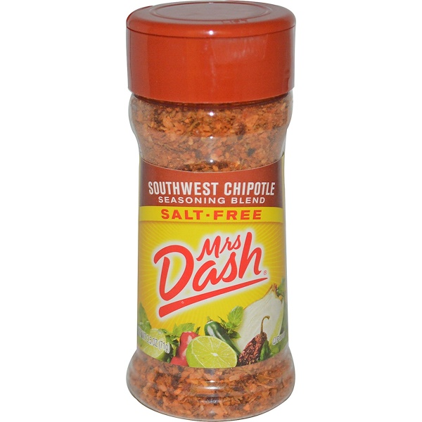 Mrs. Dash, Southwest Chipotle Seasoning Blend, Salt-Free, 2.5 oz (71 g)