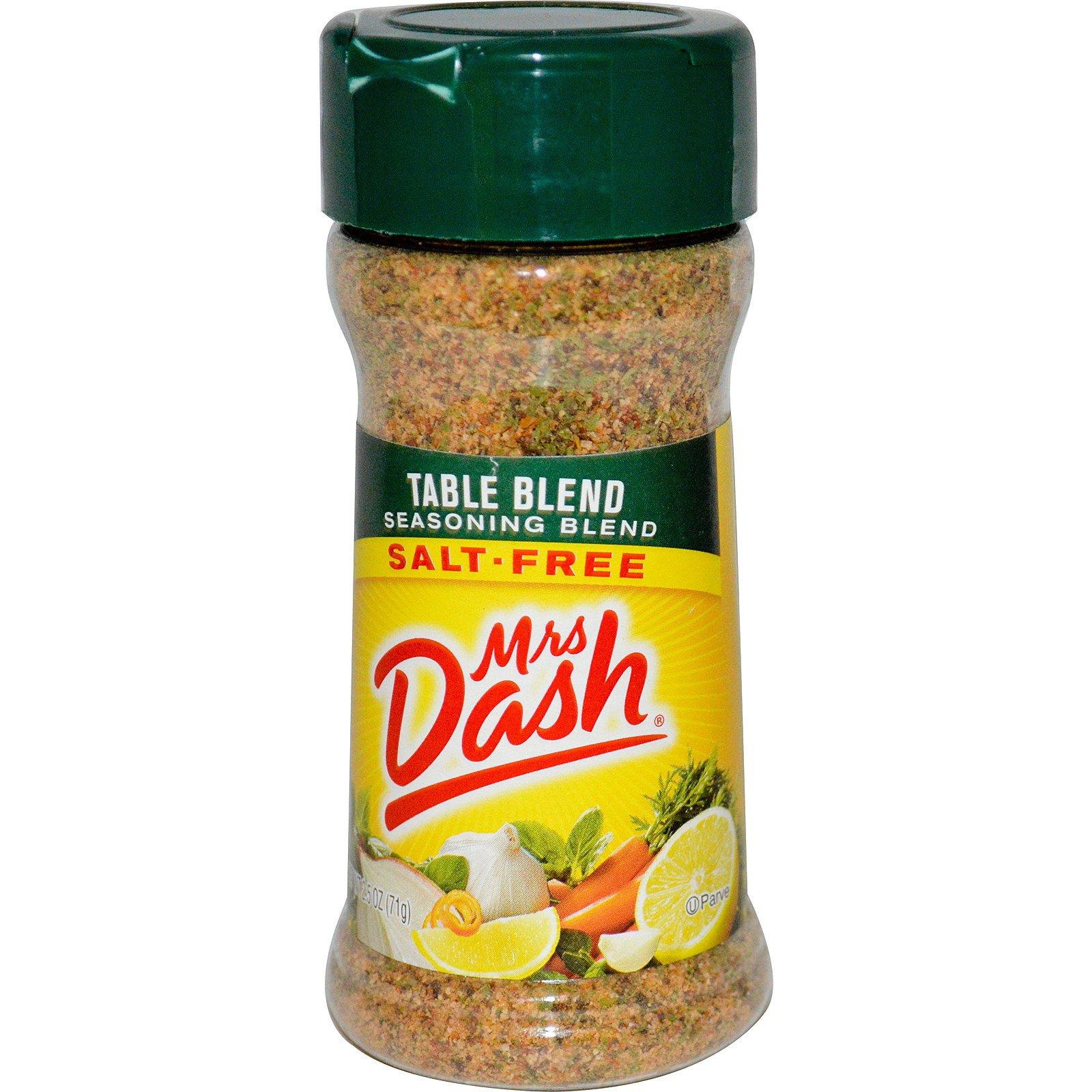Mrs. Dash, Cмесь приправ, 2,5 унции (71 г)
