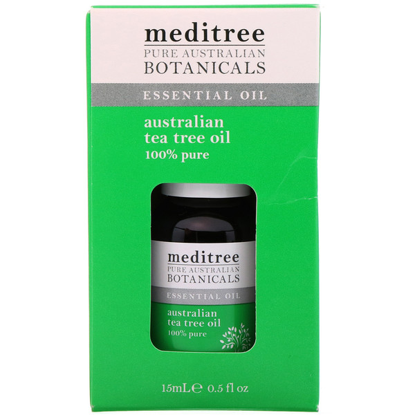 Pure Australian Botanicals, 100% Pure Australian Tea Tree Oil, 0.5 fl oz (15 ml)