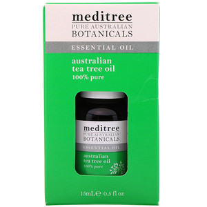 Meditree, Pure Australian Botanicals, 100% Pure Australian Tea Tree Oil, 0.5 fl oz (15 ml) отзывы покупателей