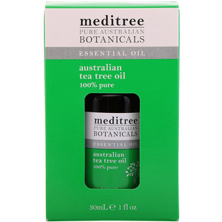 Meditree, Pure Australian Botanicals, 100% Pure Australian Tea Tree Oil, 1 fl oz (30 ml)