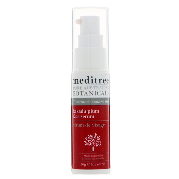 Meditree, Pure Australian Botanicals, Kakadu Plum Face Serum, For Younger Looking Skin, 1 oz (30 g)