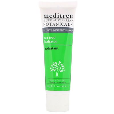 Купить Meditree Pure Australian Botanicals, увлажняющее средство с чайным деревом, для жирной и комбинированной кожи, 1, 8 унц. (50 г)