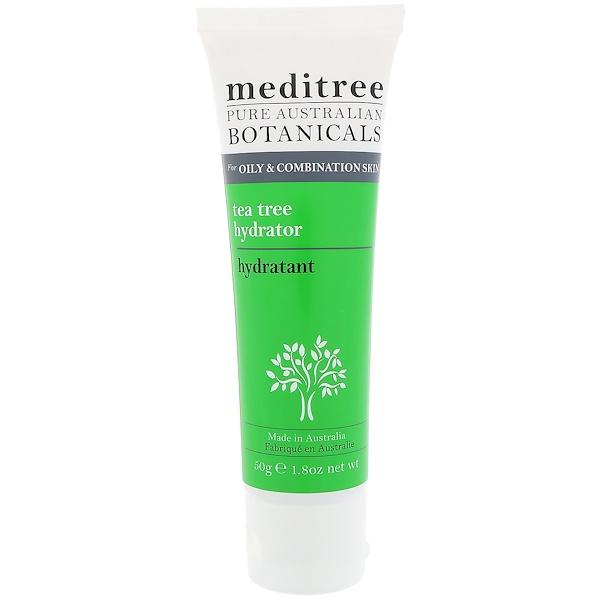 Meditree, 純澳洲植物藥,茶樹保濕劑,適合油性及混合性肌膚,1、8 盎司(50 克)