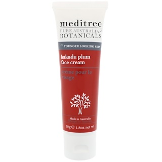 Meditree, Pure Australian Botanicals, Kakadu Plum Face Cream, For Younger Looking Skin, 1.8 oz (50 g)