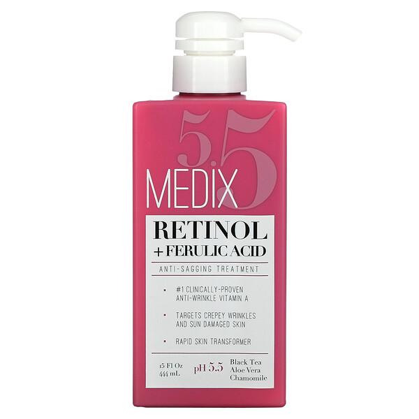 Retinol + Ferulic Acid, Anti-Sagging Treatment, 15 fl oz (444 ml)