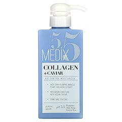 Medix 5.5, 膠原蛋白 + 魚子醬,衰老控制保濕霜,15 液量盎司(444 毫升)