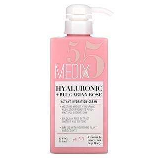 Medix 5.5, Hyaluronic + Bulgarian Rose, Instant Hydration Cream, 15 fl oz (444 ml)