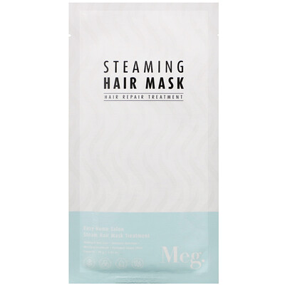 Meg Cosmetics Steaming Hair Mask, 1 Sheet, 1.41 oz (40 g)