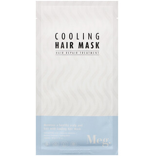 Meg Cosmetics, охлаждающая маска для волос, 1шт., 40г (1,41унции)