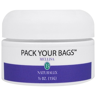 Mellisa B. Naturally, Pack Your Bags, 1/2 oz (15 g)
