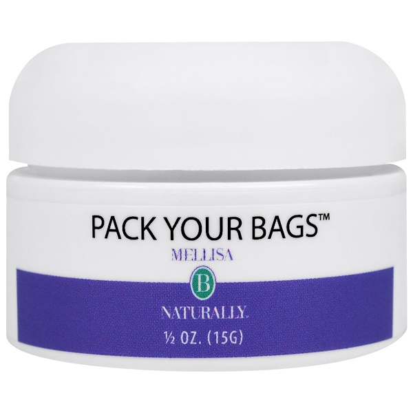 Mellisa B. Naturally, Pack Your Bags, 1/2 oz (15 g) (Discontinued Item)