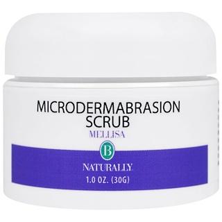 Mellisa B. Naturally, Microdermabrasion Scrub, 1.0 oz (30 g)