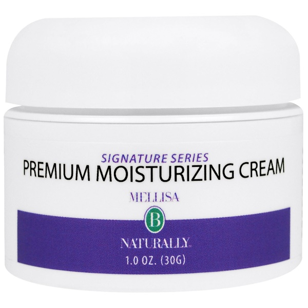 Mellisa B. Naturally, Premium Moisturizing Cream, 1 oz (30 g) (Discontinued Item)